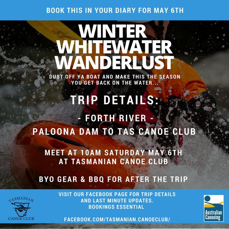 Winter Whitewater Wanderlust - Forth trip Tasmania