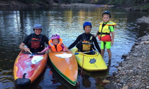 Tasmanian Canoe Club Beginers